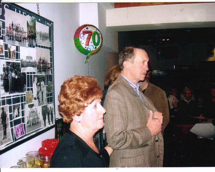 Dave Gardner's 70th Birthday party