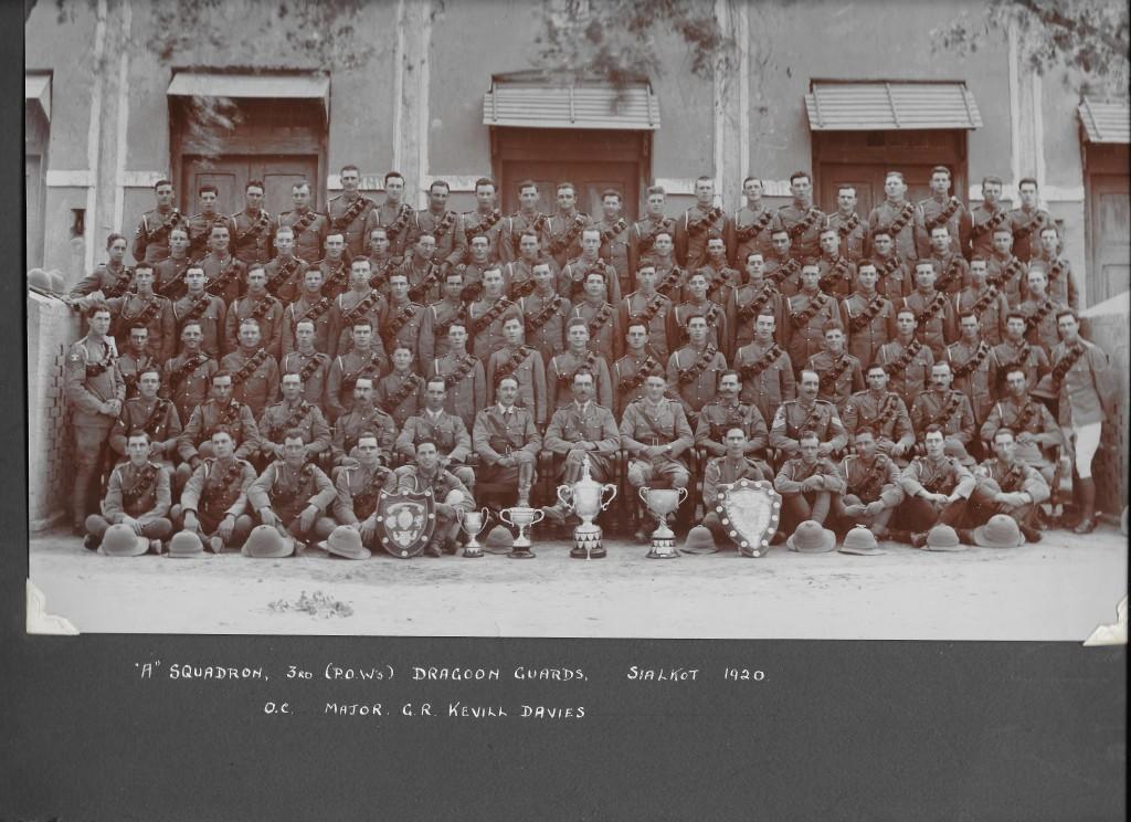1920 Sialkot A Sqn 3DG OC Maj G R Kevill-Davies