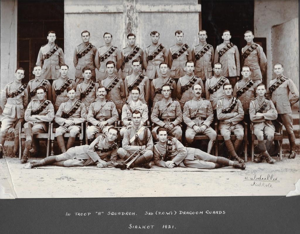 1. 1921 Sialkot - 'A' Squadron